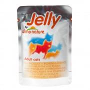 Almo Nature Jelly в паучове 6 x 70 г - риба тон и морски език