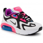 Обувки NIKE - Air Max 200 (GS) AT5630 100 White/Black/ Hyper Pink