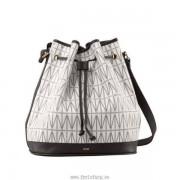 Dagmar Mini Bucket Bag Vit