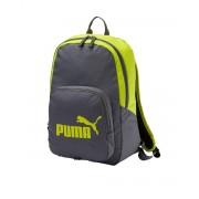 PUMA Phase Backpack Grey/Lime