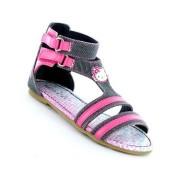 Sandale Hello Kitty fetite model gladiator denim roz