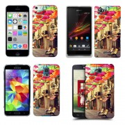 Husa Allview A4 You Silicon Gel Tpu Model Vintage Umbrella