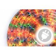 Svetelný kábel 10 m - farebný, 360 minižiaroviek