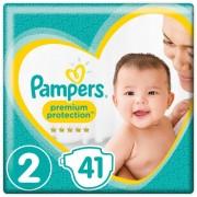 Pampers Premium Protection Maat 2, 4-8 kg, 41 Luiers