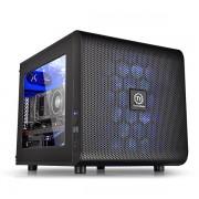 THE CS CA-1D5-00S1WN-00 CORE V21 MICRO CASE Mini ITX Micro ATX DRIVE -Hidden 3 x 3.5'' or 2.5 3 x 2.5'' Exp Slots 5