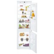 Combină frigorifică încorporabilă Liebherr ICBS 3324, 255 L, SmartFrost, SuperCool, SuperFrost, BioFresh, Display, Control taste, Siguranţă copii, H 178 cm, Clasa A++