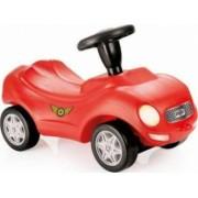 Masinuta DOLU Racer ride-on car prevazuta cu claxon Rosu cu negru