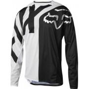 Fox Demo LS Preme Jersey - maglia bici downhill - uomo - Black/White
