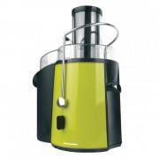 Storcator de fructe si legume Heinner XF-1000GR, 1000W, 2 viteze, Negru/Verde