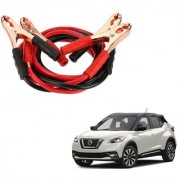 Auto Addict Premium Quality Car 500 Amp Heavy Duty Copper Core Tangle Battery Booster Cable 7.5 Ft For Nissan Kicks