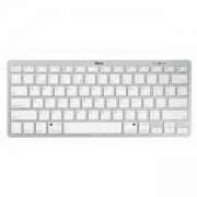 Безжична клавиатура TRUST Nado Wireless Bluetooth Keyboard, Бяла, 22242