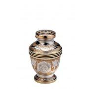 Messing Mini Urn Messing - Zilver (0.11 liter)