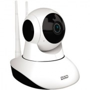 D3D Wireless HD IP WiFi CCTV Indoor Camera (D8810 White 2MP)