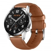Huawei Watch GT2 46mm, Brown Leather Strap