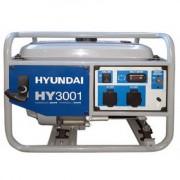 HY3001 Hyunday Generator de curent monofazat , putere maxima 3.1 kVA , tensiune 230 V , rezervor 15 l , alternator cu AVR