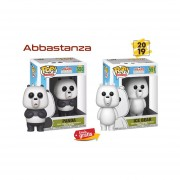 set We bare bears Funko pop Panda y Ice bear cartoon network