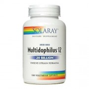 Solaray, Mightidophilus 12, 100 capsules