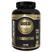 L-carnitina, GoldNutrition, L-CARNITINE 750 MG, 60 CPS