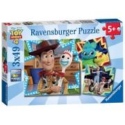 Ravensburger Toy story 4 Puzzle 3x49 pz