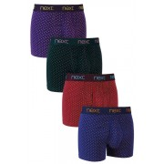 Mens Next Spot A-Fronts Four Pack - Multi