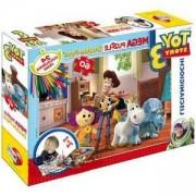 Пъзел с флумастри Играта на играчките LISCIANI GIOCHI, 8008324032921
