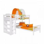 Dečiji krevet na sprat Emil Beli Africa