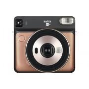 Fujifilm Kit Cámara Instantánea FUJIFILM Instax Square SQ6 (Blush Gold - Obturación: 1.6-1/400 s - 2 Pilas CR02 - 62x62mm)