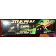 Star Wars The Power of the Force Electronic Darth Vader Lightsaber Green Box