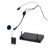Trådlöst headsetsystem med headset, sändare och mottagare - JB-Systems WBS 20