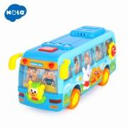 Autobuz dansator cu sunete si lumini pentru bebelusi - Hola