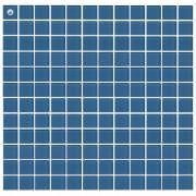 Maxwhite L18 Mozaika skleněná modrá 29,7x29,7cm sklo