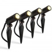 QAZQA LED spotlight Garly set of 4 pieces - IP68