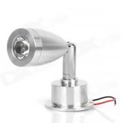 Lampara principal flexible de la luz blanca de 1W 95LM 6000K LED (85 ~ 265V)