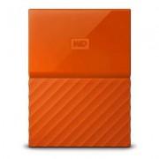 WD Produkt z outletu: Dysk zewnętrzny WD My Passport 1TB Pomarańczowy WDBYNN0010BOR-WESN