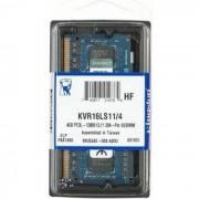 Kingston Memorija za prijenosna računala DDR3L 4GB 1600MHz, KVR16LS11/4