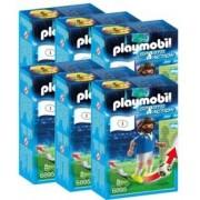 Playmobil Sports & Action : joueur de foot - Italie - x6