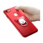 Funda Iphone 6/6 Plus Con Anillo Y Soporte -rojo