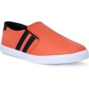 Shoe Bazzar Mens Orange Casual Shoes Casuals For Men(Orange, Black)