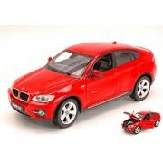 Rastar 1:24 X6 Die Cast Scale BMW , White/Red