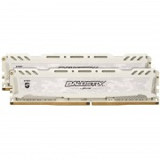 Memorie Crucial Ballistix Sport LT White 8GB DDR4 2400MHz CL16 Dual Channel Kit