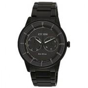Citizen Grey Stainless Steel Round Dial Quartz Watch For Men (BU4005-56H)