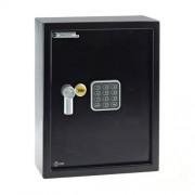 Seif electronic mediu pentru 48 chei YALE YKB/365/DB1, otel, negru