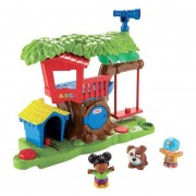 F-P Little People Surtido De Playsets Medianos Casa Del Árbol Y Mercado