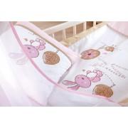 Klups Set Lenjerie 5 Piese Little Bunny Bej-pink
