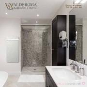 VALDEROMA Sèche-serviette à inertie Wifi Ardoise Blanche 800W Vertical - Valderoma AB08BLW