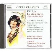 M De Falla - La Vida Breve (0730099615525) (1 CD)