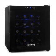 Klarstein хладилник за вино 48 литра 16 бутилки черен (HEA-MKS-1)