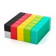 Duży Zestaw Klocki Magnetyczne dla Dzieci Pixio-50 50 szt Kolorowe