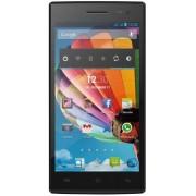 "Telefon mobil Mediacom PhonePad Duo X500, Procesor Quad-Core MediaTek MTK6582 1.3GHz, IPS LCD Capacitive touchscreen 5"", 1GB RAM, 4GB Flash, 8MP, Wi-Fi, 3G, Dual Sim (Albastru) + Cartela SIM Orange PrePay, 6 euro credit, 4 GB internet 4G, 2,000 minute nat"