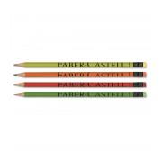 Creion grafit HB cu radiera corp color Faber Castell 112700